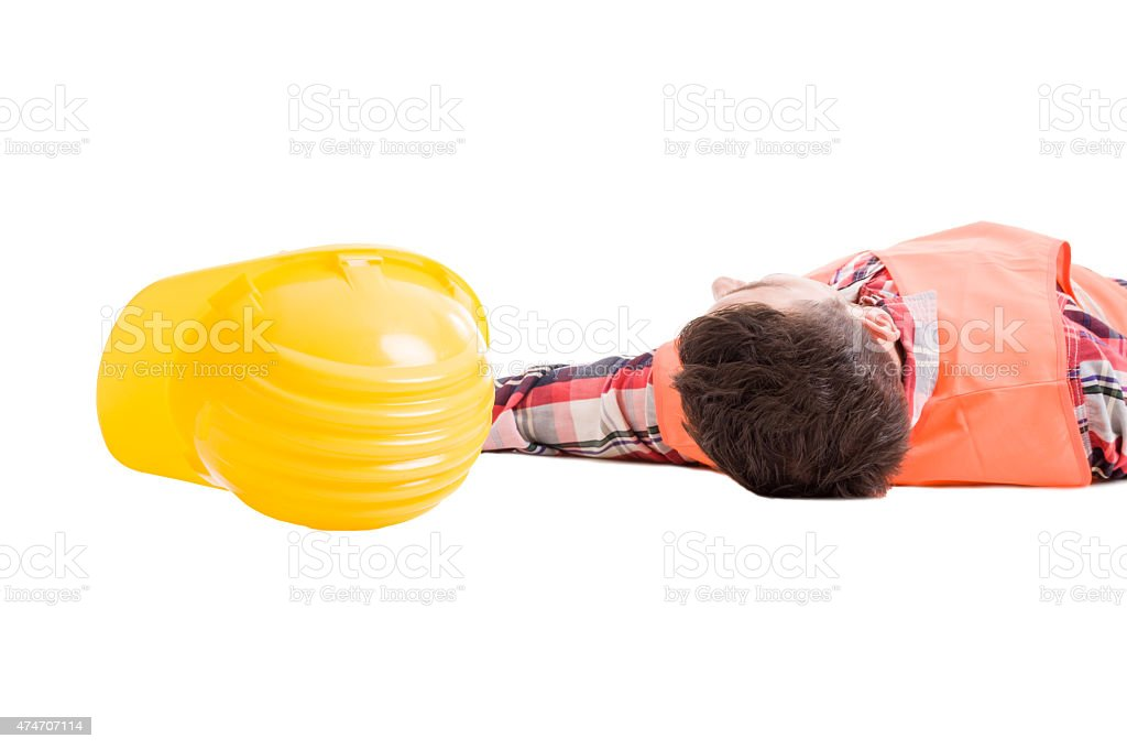 Workplace safety insurance concept stock photo