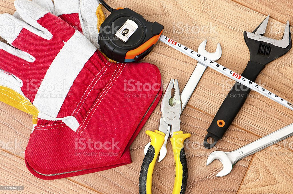 works tools royalty-free stock photo