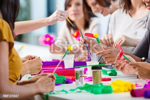istock Workshop for women 498101647