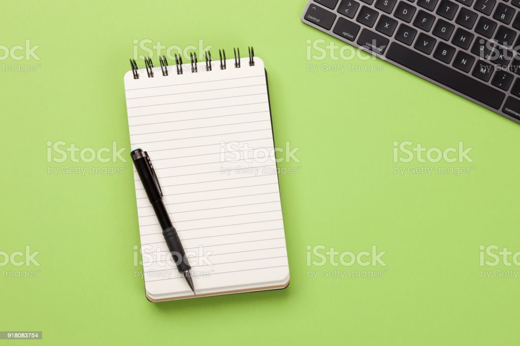 Workspace - Concept stock photo