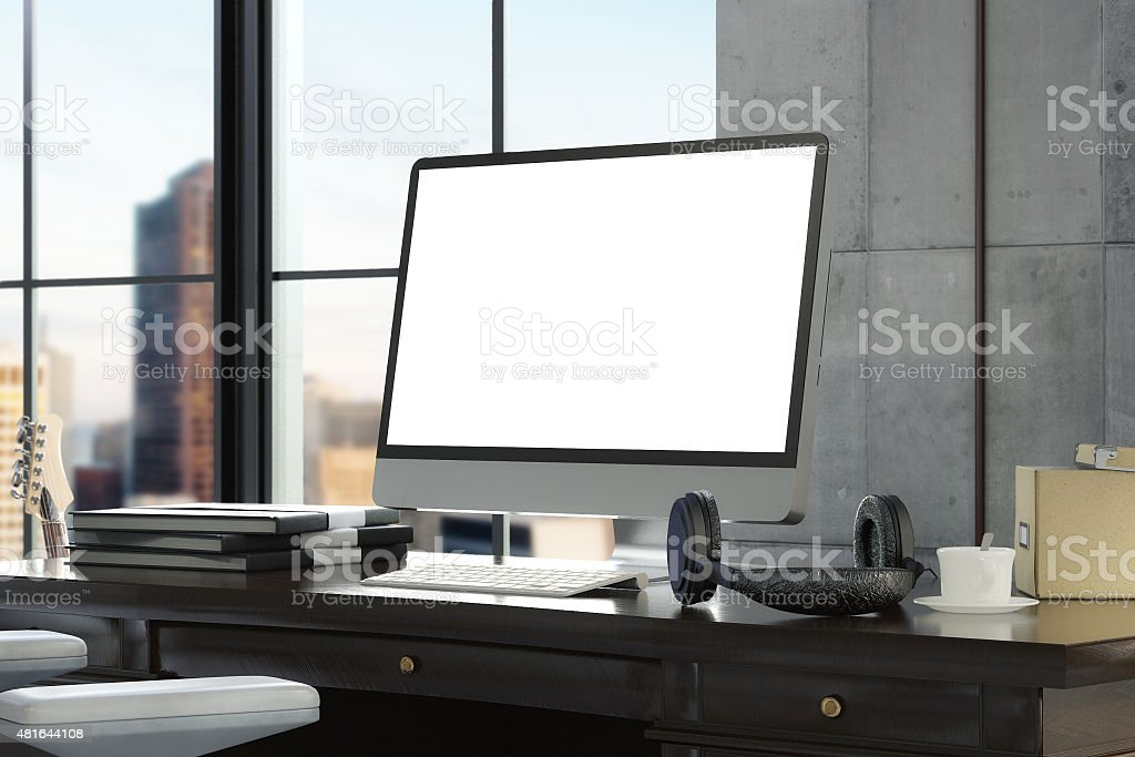 Workspace stock photo