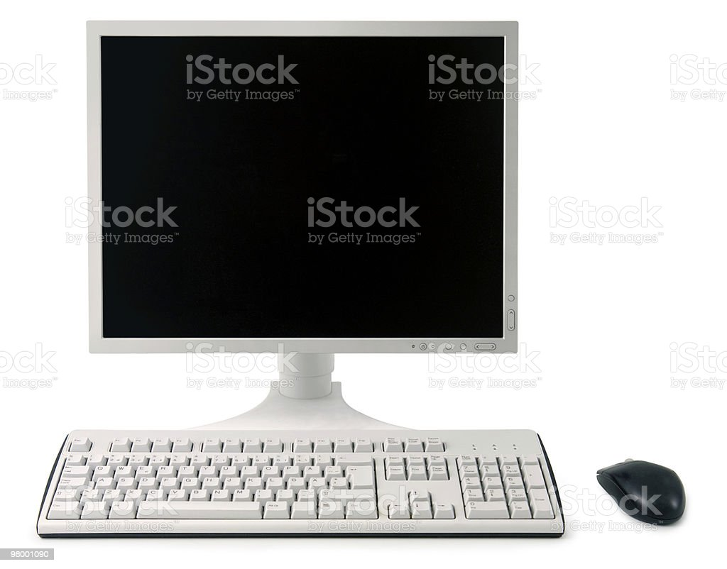 Workstation royalty-free stock photo