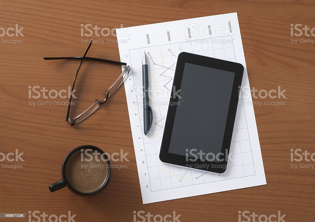 Worktable royalty-free stock photo