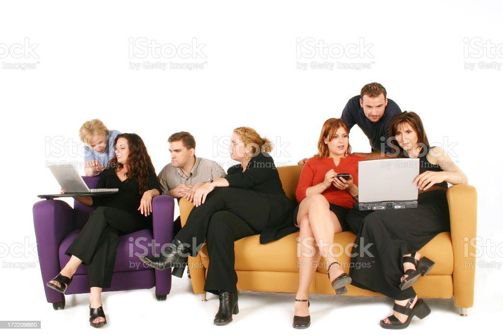 Workteam royalty-free stock photo