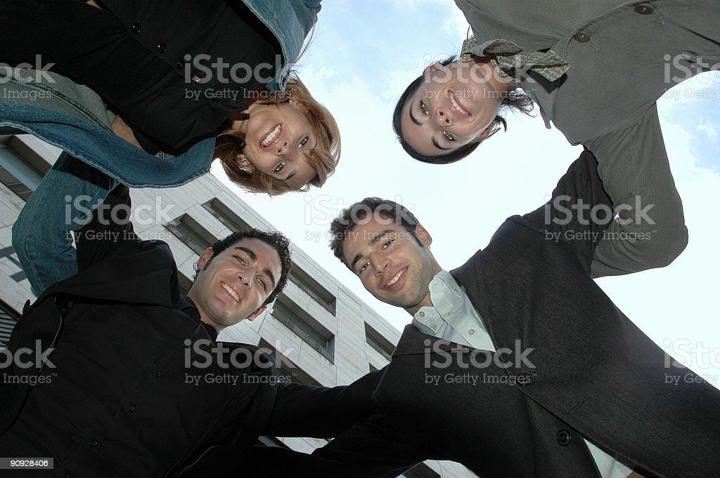 Workteam Lizenzfreies stock-foto