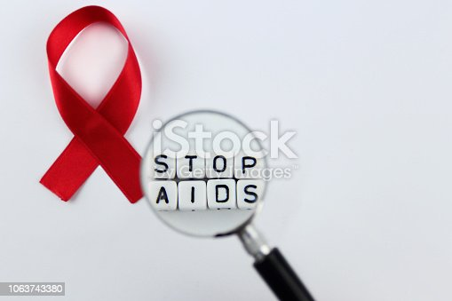 istock world AIDS day 1063743380
