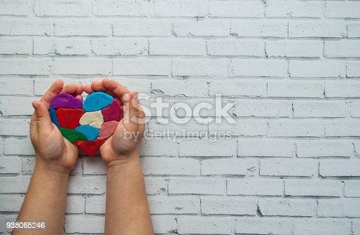istock World autism awareness day symbol. 938065246