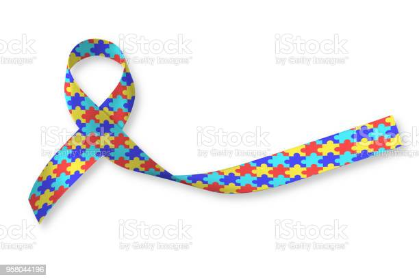 World autism awareness day waad colorful puzzle fabric ribbon logo picture id958044196?b=1&k=6&m=958044196&s=612x612&h=rqmyf2jcc65b5xucyvwfk5rd2teem18qgw0uuybp6pg=