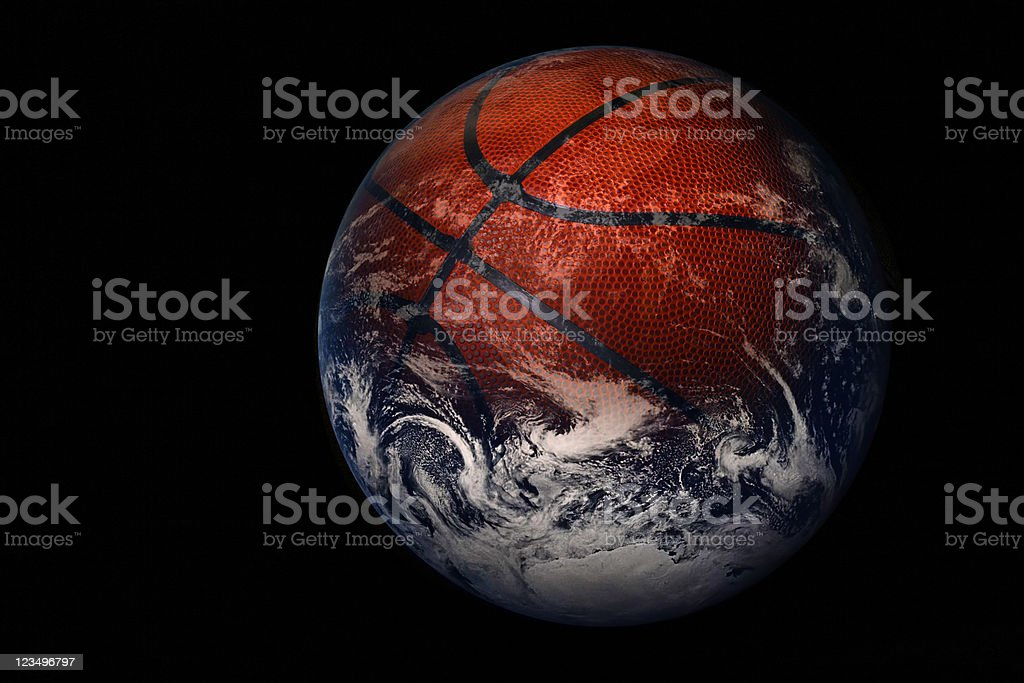 World Basketball stock photo