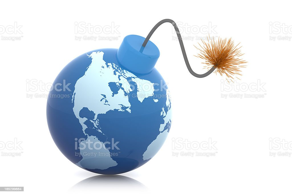 World Bomb stock photo