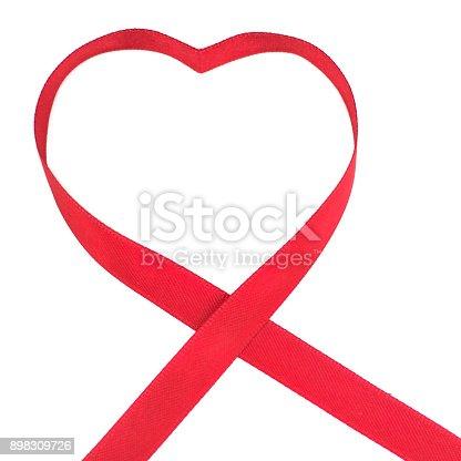 istock World Cancer Day Awareness ribbon. February 4 898309726