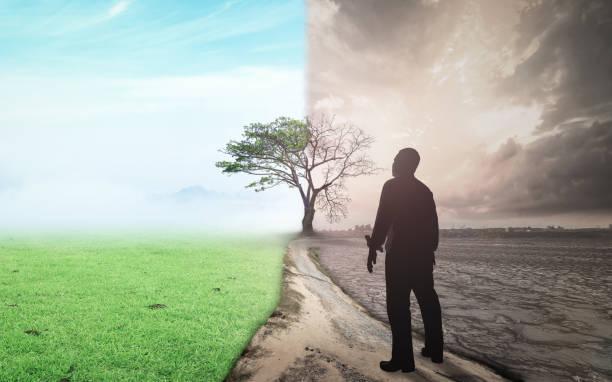 zmiana na świecie i koncepcja globalnego ocieplenia - bóg zdjęcia i obrazy z banku zdjęć