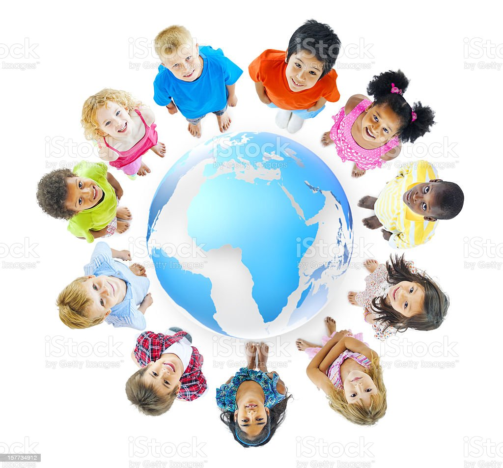 World Children royalty-free stock photo