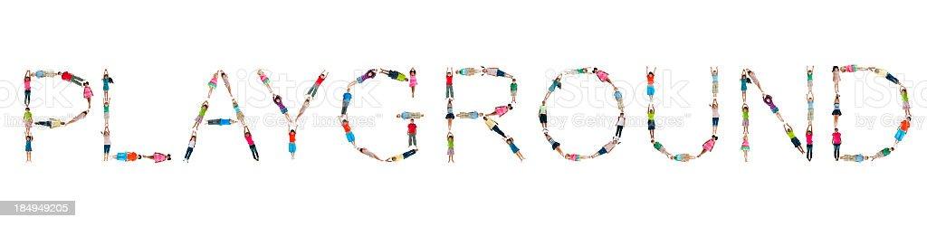 World Children Words. royalty-free stock photo