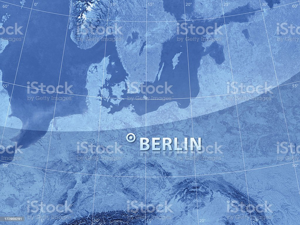 World City Berlin royalty-free stock photo
