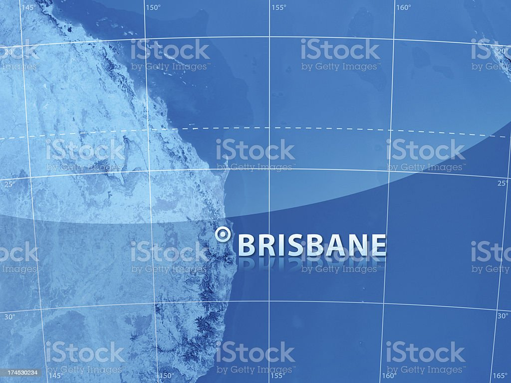 World City Brisbane stock photo