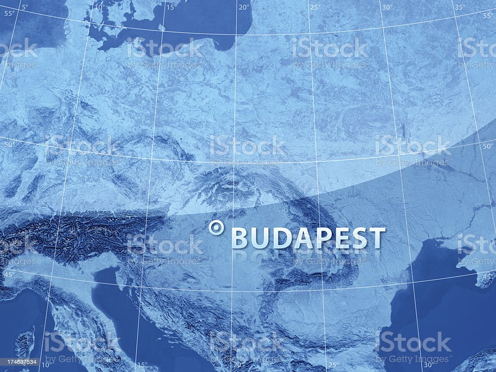 World City Budapest royalty-free stock photo