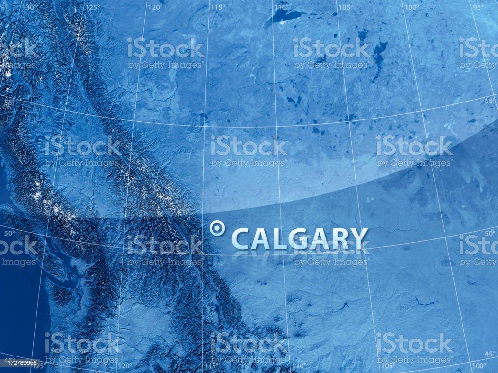 World City Calgary royalty-free stock photo