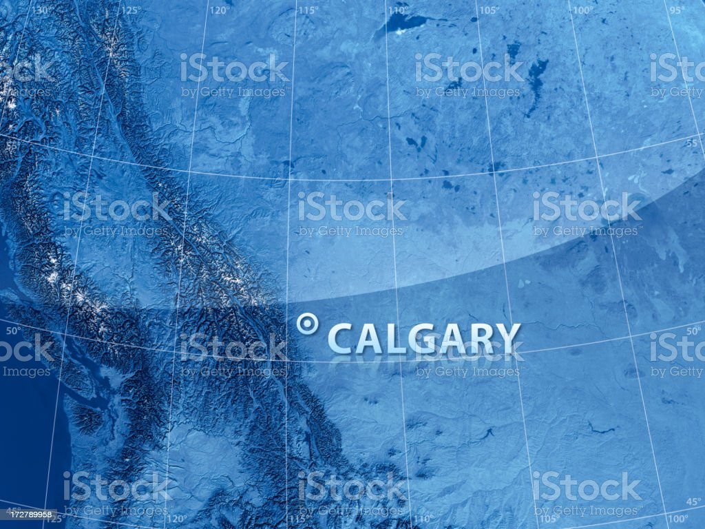 World City Calgary stock photo