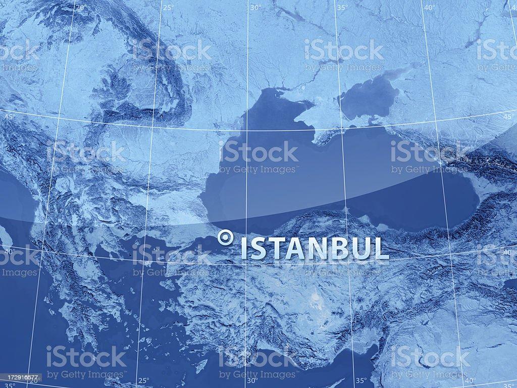 World City Istanbul royalty-free stock photo