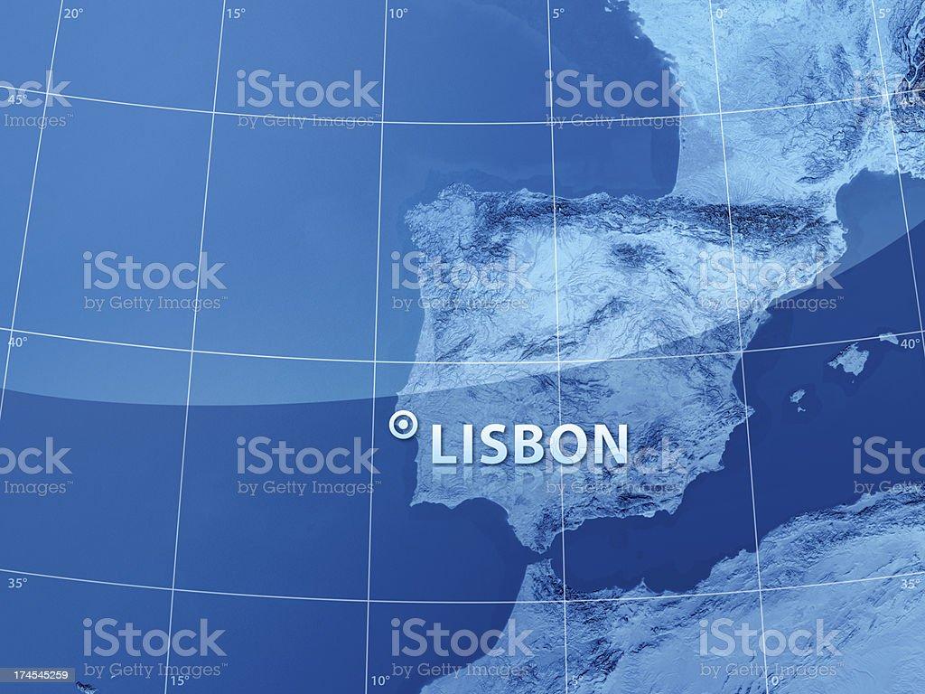 World City Lisbon royalty-free stock photo