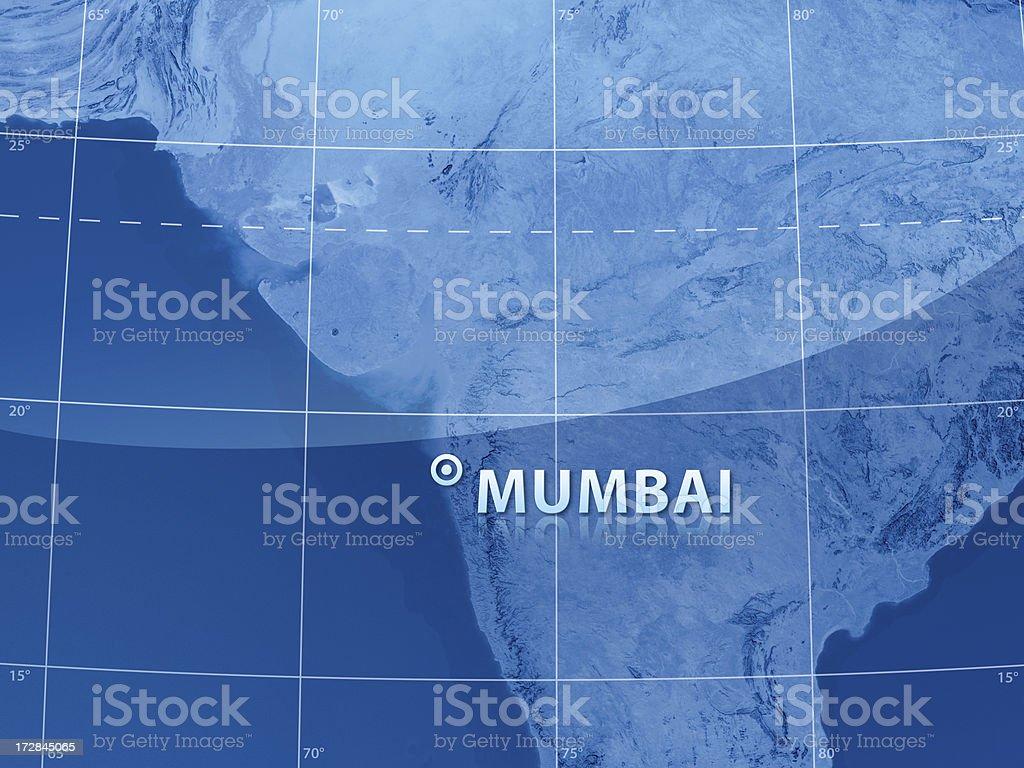 World City Mumbai royalty-free stock photo