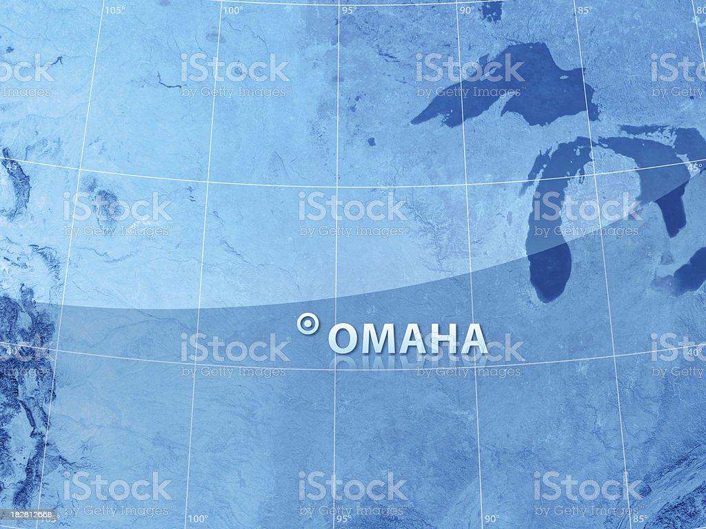 World City Omaha stock photo