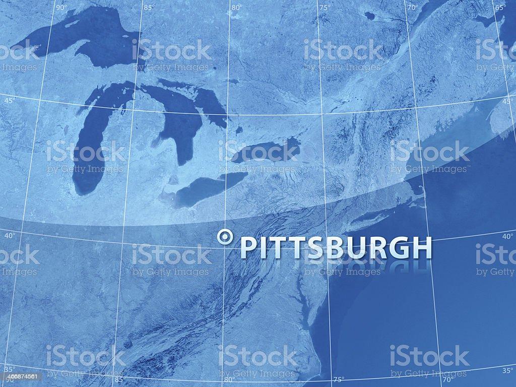 World City Pittsburgh royalty-free stock photo