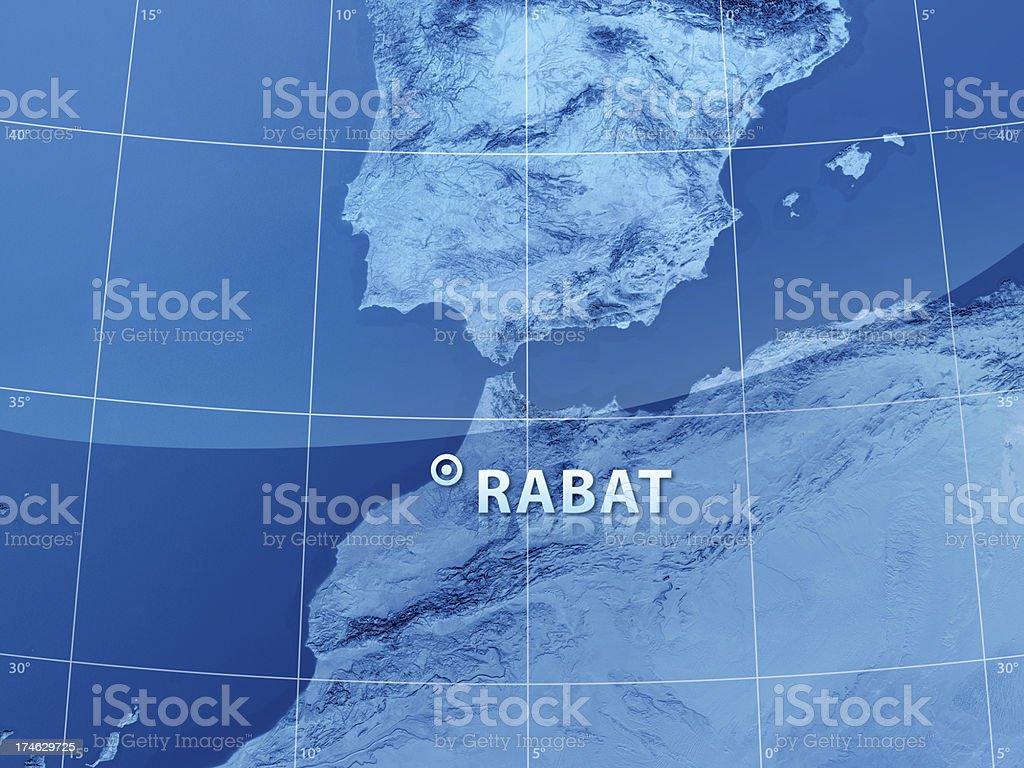World City Rabat royalty-free stock photo