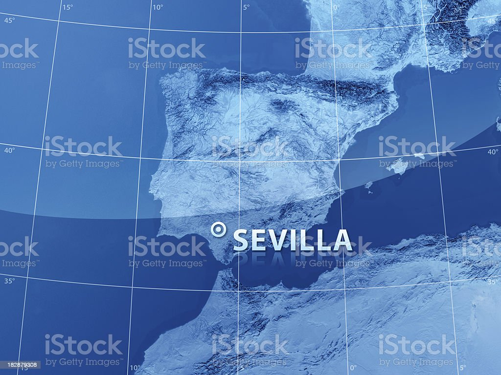 World City Sevilla royalty-free stock photo