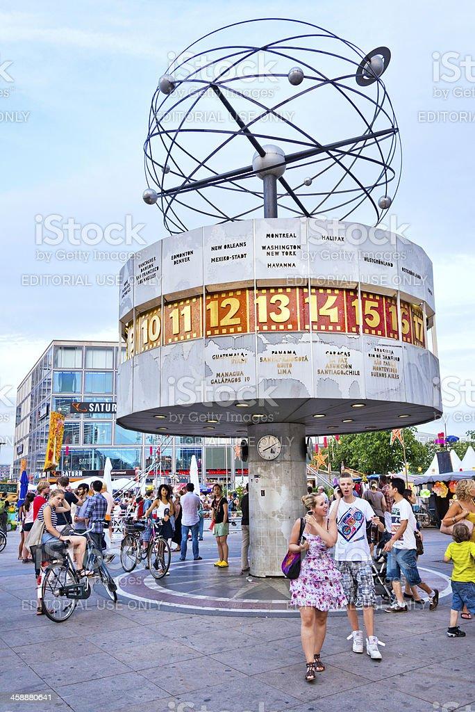 World Clock - Alexanderplatz, Berlin royalty-free stock photo