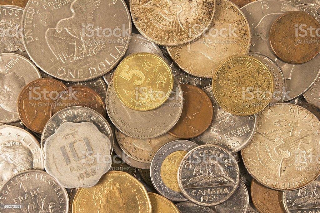 세계 동전 royalty-free 스톡 사진