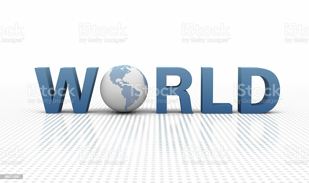 World Concept royalty-free stock photo