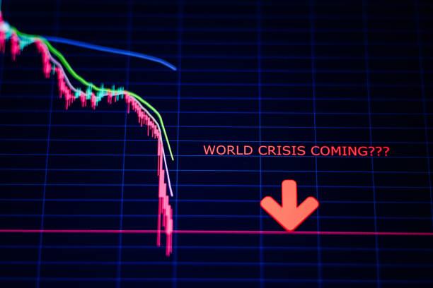 Weltkrisenaktien brechen Abwärtstrend-Panik ein – Foto