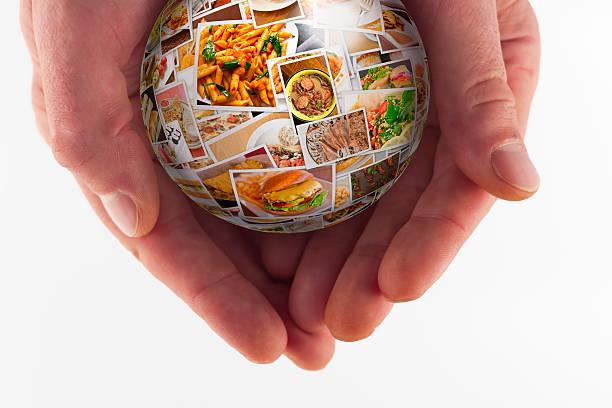 internationale küche collage welt - foto collage geschenk stock-fotos und bilder
