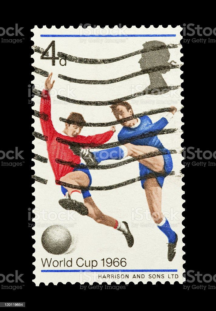 world cup 1966 royalty-free stock photo