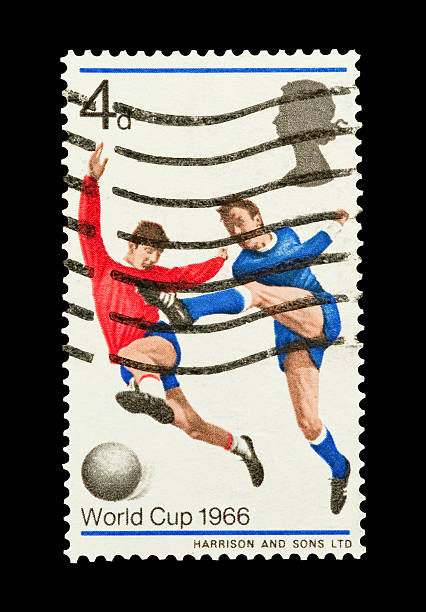 world cup 1966 stock photo