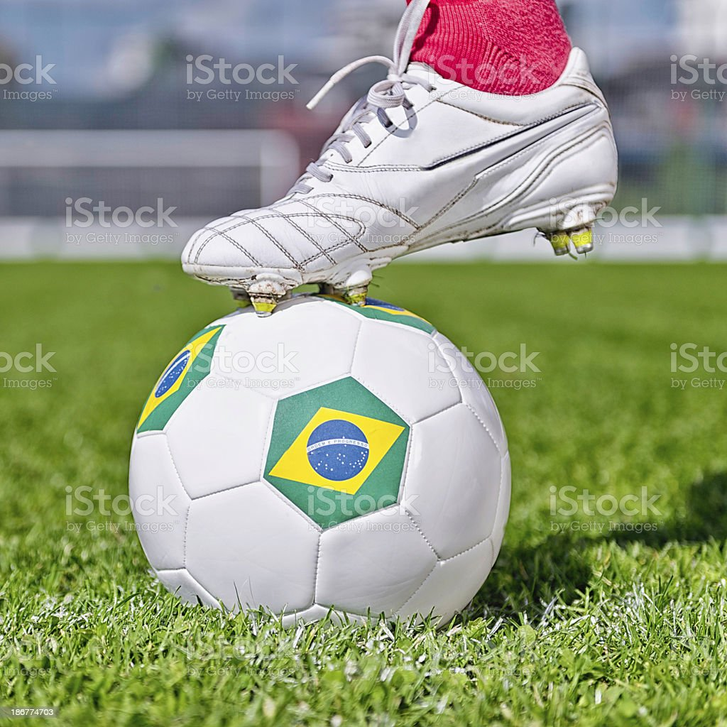 World Cup Kick Off Time royalty-free stock photo