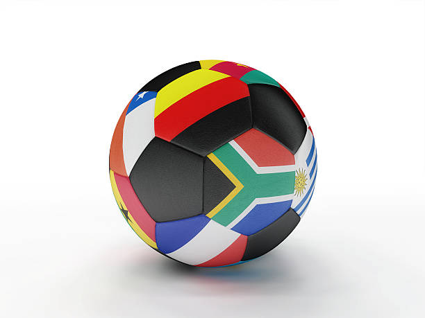 World Cup Soccer Ball 2010 stock photo