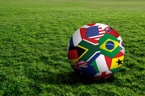 World Cup Soccer Ball Stock Photo - Download Image Now