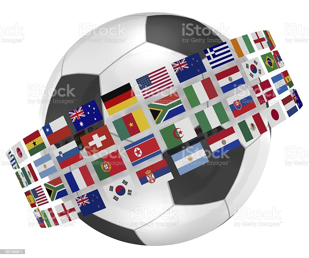 World Cup Teams royalty-free stock photo