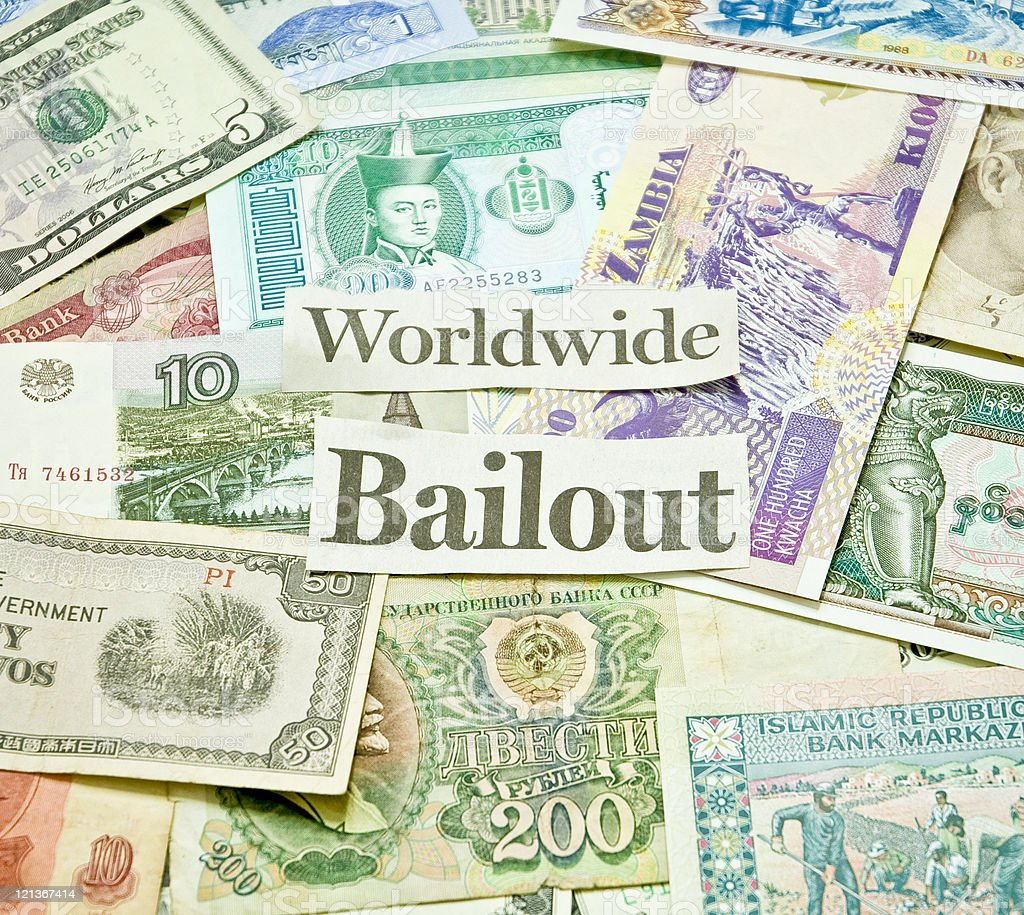 World Currencies royalty-free stock photo