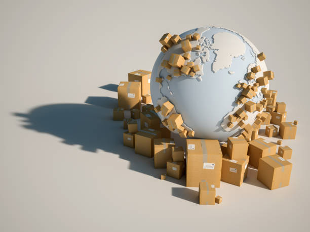 world deliveries - international moving stock pictures, royalty-free photos & images