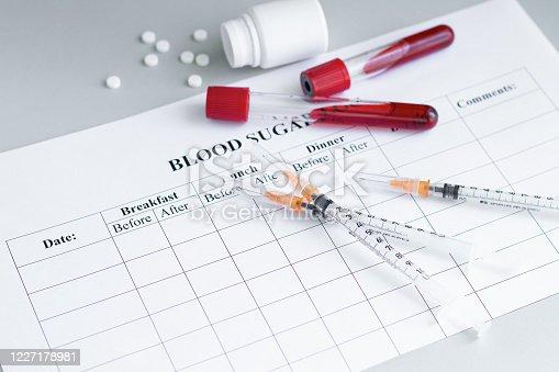 istock World Diabetes day 14 November background 1227178981