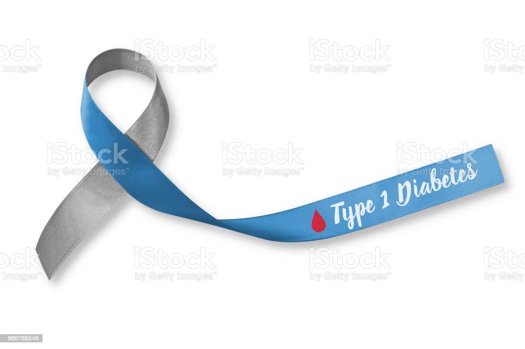 color gris de la cinta de diabetes