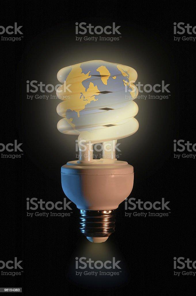 World Energy Conservation royalty-free stock photo