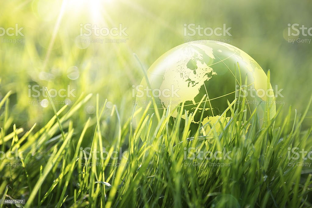 world enviromental concept - Usa stock photo