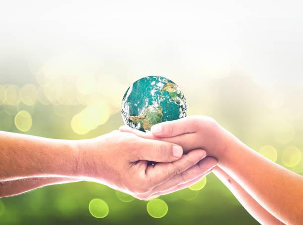 World environment day concept stock photo