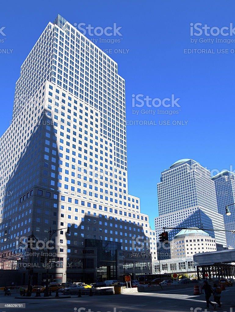 World Financial Center buildings, Manhattan, New York. royalty-free stock photo