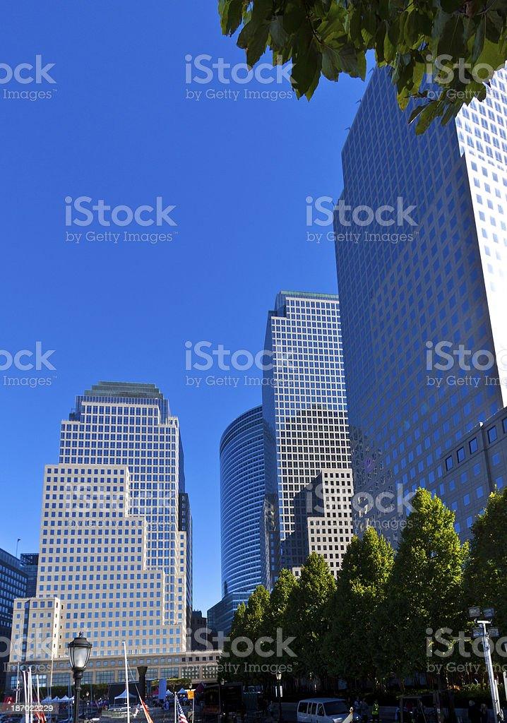 World Financial Center buildings, New York. royalty-free stock photo